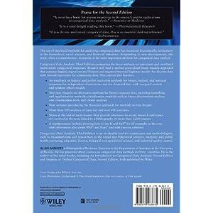 Categorical Data Analysis Livre en Ligne - Telecharger Ebook