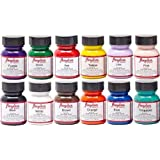 Angelus 4oz Acrylic Paint 12pk (Color: Multiple, Tamaño: 4 oz)