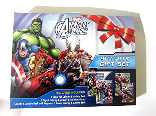 Marvel Avengers Assemble Activity Gift Set - 1