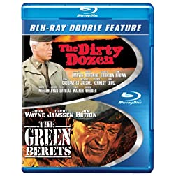 The Dirty Dozen / The Green Berets [Blu-ray]
