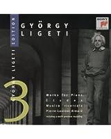 Ligeti : Works for piano / Etudes musica ricercata