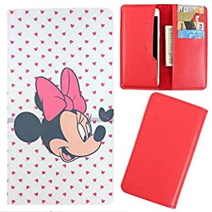 DooDa - For Karbonn Android One Sparkle V PU Leather Designer Fashionable Fancy Case Cover Pouch With Card & Cash Slots & Smooth Inner Velvet