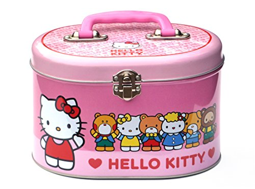 Hello-Kitty-Friends-Oval-Tin-Train-Case-Sewing-Box