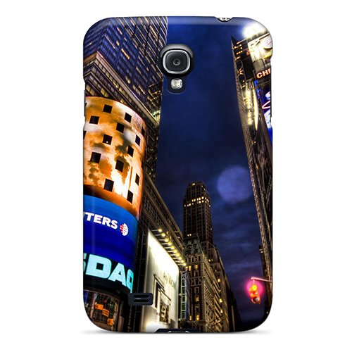 Galaxy S4 Nasdaq Stock Market New York Print High Quality Tpu Gel Frame Case Cover front-261716