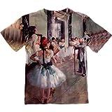 "Edgar Degas - ""Die Tanzklasse"" (1875) -Tagless- Kids Shirt-Small"