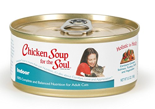Chicken Soup For The Soul Indoor Cat Wet Food