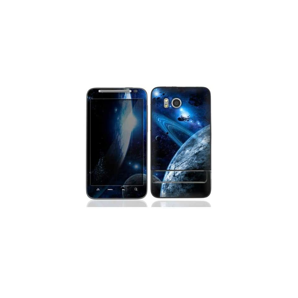 Space Evacuation Protective Skin Cover Decal Sticker for HTC Thunderbolt Cell Phone