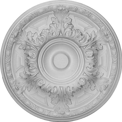 Ekena Millwork CM19GA 19-Inch OD x 6-Inch ID x 1 1/2-Inch P Granada Ceiling Medallion