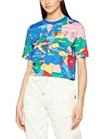 Love Moschino Camiseta Manga Corta (Azul / Multicolor)