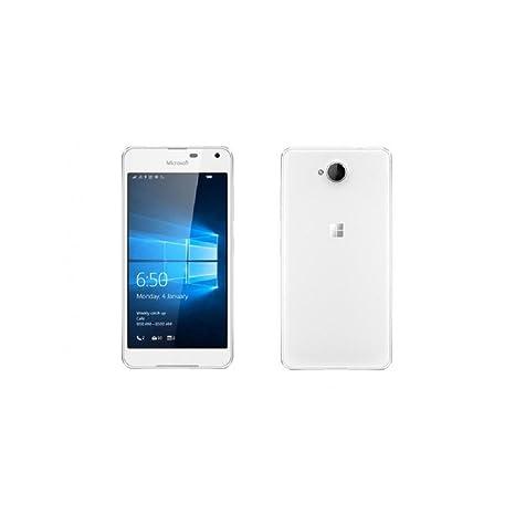 Smartphone Débloqué Microsoft Nokia Lumia 650 Simple SIM 4G 16Go Blanc EU