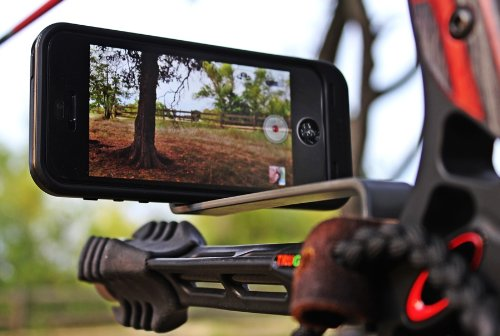 Smartphone Camera Bow Mount for Use with Iphone,samsung,gopro, and More