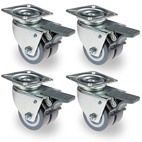 4-st-apparatenrolle-transportrollen-strandkorbrollen-doppelrollen-mobelrollen-4-x-lenkrolle-mit-brem