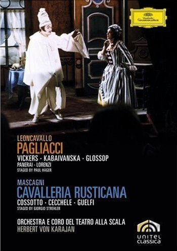Cavalleria Rusticana Y Pagliacci (Karajan) - Leoncavallo - DVD