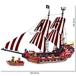 Large Pirate Ship & 6 Pirates Mini-Fi...