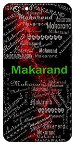 Makarand (Honey, Nectar) Name & Sign Printed All over customize & Personalized!! Protective back cover for your Smart Phone : Samsung Galaxy S6 Edge