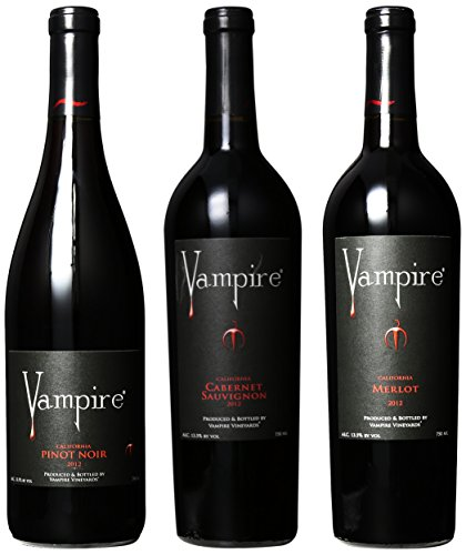 Vampire Vineyards Vampire Mixed Pack, 3 X 750 Ml