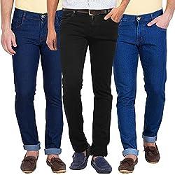 Stylox Set Of 3 Slim Fit Jeans