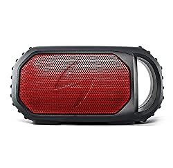 ECOXGEAR Ecostone Portable Outdoor Bluetooth Speaker - Retail Packaging - Red