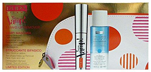 PUPA DOT SHOCK Trousse Mascara VAMP+Mini Struccante Bifase+Pochette Confezioni regalo