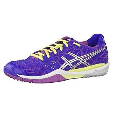 ASICS Gel-Fireblast, Women's Multisport Indoor Shoes, Blue (Clematis Blue/Lightning/Grape 4393), 6 UK (39 1/2 EU)