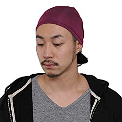 CasualBox Mens Thermal Stretch Sports Made in Japan Tight Beanie Hat Enge
