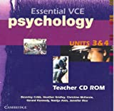 img - for Essential VCE Psychology Units 3 and 4 Teachers CD-Rom book / textbook / text book