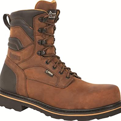 """Rocky Governor Men's 9"""" Composite Toe GORE-TEX®WP Work Boot-RKYK004 (M8.5)"""