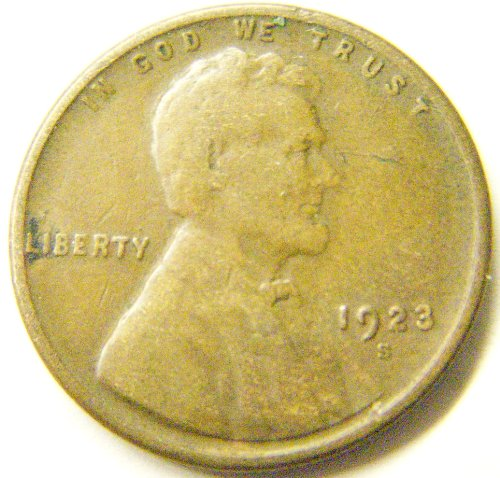 1923-S Lincoln Cent (Very Good)