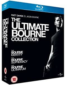 Ultimate Bourne Collection [Blu-ray] [Import]