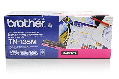 Brother MFC-9440 CN - Original Brother TN-135M - Cartouche de Toner Magenta -