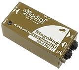 Radial ラジアル ピエゾPU専用DIボックス StageBug SB-4 Piezo 【国内正規輸入品】
