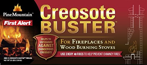 Pine Mountain Creosote Buster Safety Firelog 1 Log