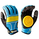 Sector 9 BHNC Adult Slide Skateboard Gloves - Blue
