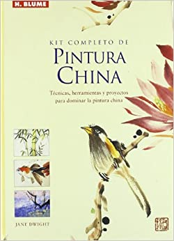 Kit completo de pintura china/ Complete Kit of Chinese Painting