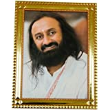 Guruji Photo Frame - 6 X 8 Shakti 1 From The Art Of Living