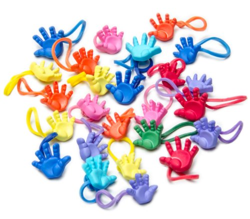 U-B Hand Me the Colors Charms for all Rubber Band Looms (25 Charms)