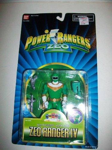 Power Rangers Zeo 1996 Green IV Ranger MOSC MOC 5 1/2