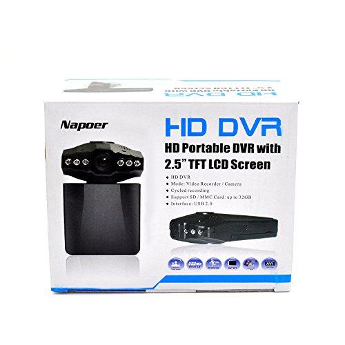 Beelike HD Car DVR Traveling Driving Data Recorder Camcorder Vehicle Camera With 120 Degree Angle View Black w33 car camera hd ntk96220 120 degree 3 0inch cmos car dvr black