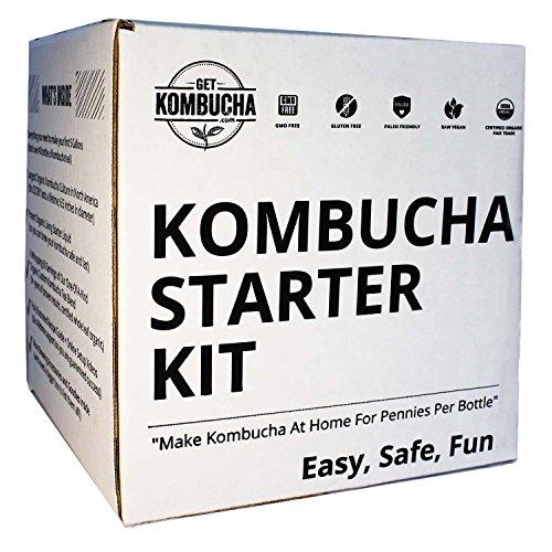Get Kombucha, Organic Kombucha Starter Kit, 6.5