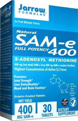 Jarrow  Formulas SAM-e, 400 mg, 30 Count