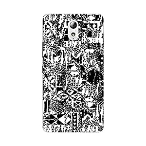 Garmor Designer Silicone Back Cover For Reliance Lyf Water 10