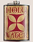 Trixie & Milo Holy Water 8oz Stainless Steel Flask