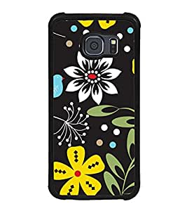 ifasho Designer Phone Back Case Cover Samsung Galaxy S6 G920I :: Samsung Galaxy S6 G9200 G9208 G9208/Ss G9209 G920A G920F G920Fd G920S G920T ( Cute Small Girl Colorful Pattern Design Studies )