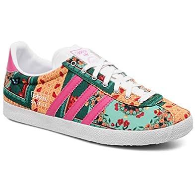 Amazon.com: Adidas Gazelle OG WC Farm W - Run White / Bloom, 5.5 B US