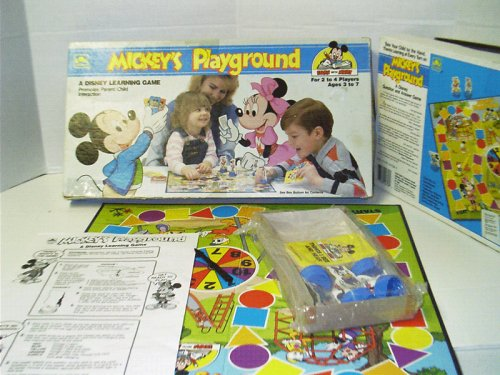 Mickey's Playground; a Disney Learning Game - 1