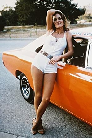 Dukes Of Hazzard Catherine Bach Poster Dodge Charger at ...