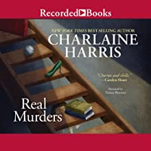 Real Murders: An Aurora Teagarden Mystery, Book 1 (       UNABRIDGED) by Charlaine Harris Narrated by Therese Plummer