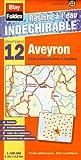 echange, troc Blay-Foldex - Aveyron (12). Carte Départementale, Administrative et Routière (échelle : 1/180 000)