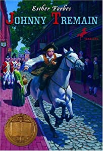 "Cover of ""Johnny Tremain"""