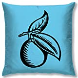 Right Digital Printed Clip Art Collection Cushion Cover RIC0036a-Blue